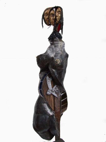 damas del medioevo Hierro Figurativa