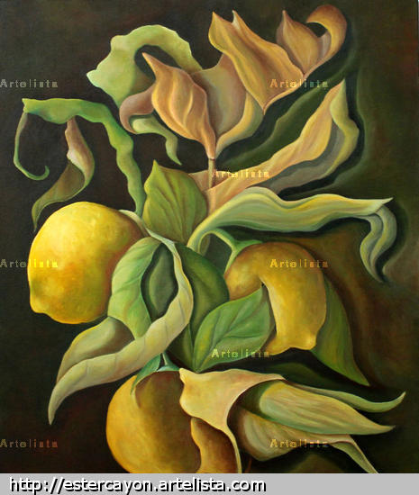 Limones Acrylic Canvas Others