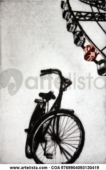 Bicycle II. Rotogravure