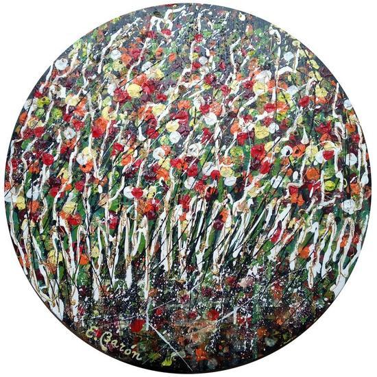 Silvestre 13 Lienzo Acrílico Floral