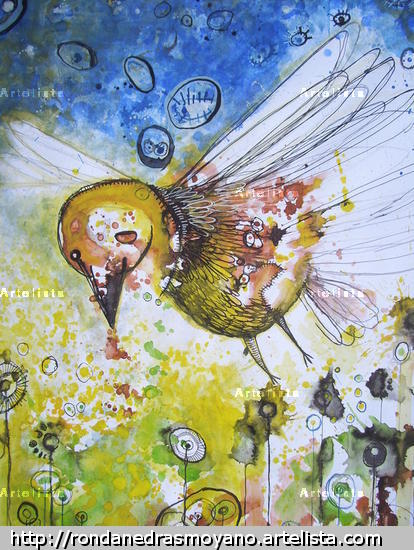 VUELO Mixed Media