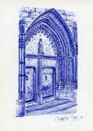 porta esglesia san bertomeu