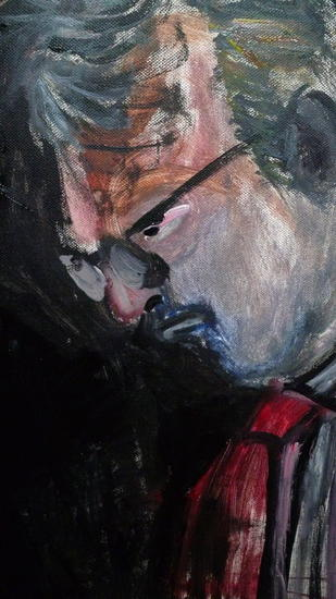 PERSONAJE1 Portrait Oil Canvas