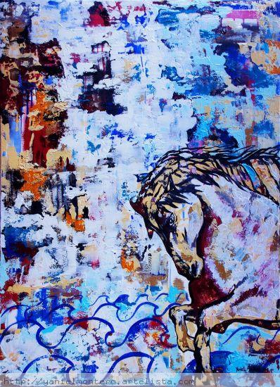 Horse Serie 2 Acrylic Canvas Animals