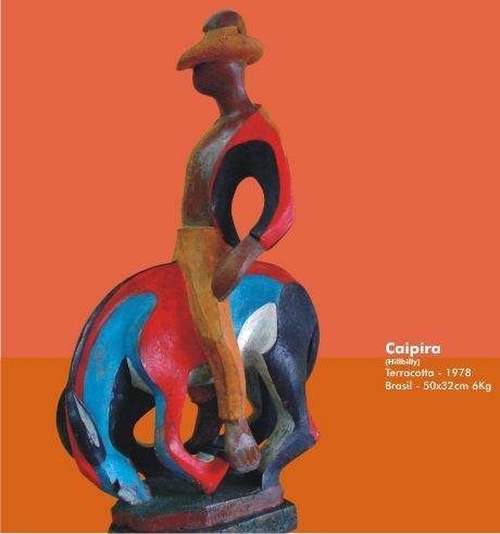 Caipira - 1978 Terracota Figurativa