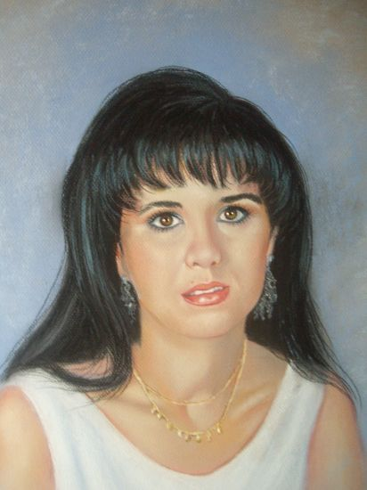 retrato Oil Card Portrait