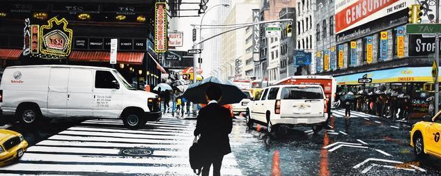 New York #30 Tabla Otros Paisaje