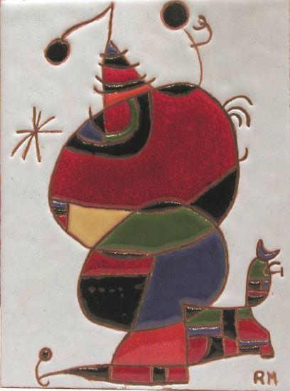 Mujer, pájaro y estrella (Joan Miró)