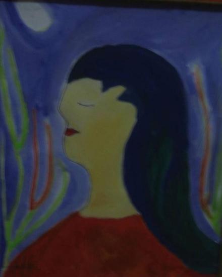 La mujer Otros Cartulina Retrato