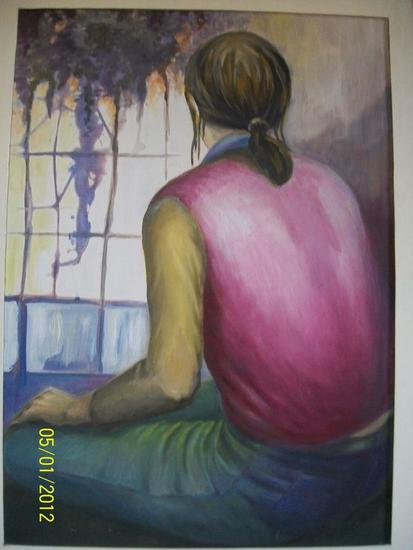 GLICINAS  Figure Painting Oil Others