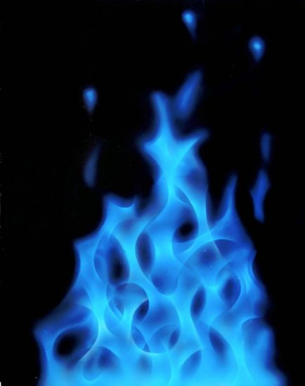 Fuego azul (blue fire)