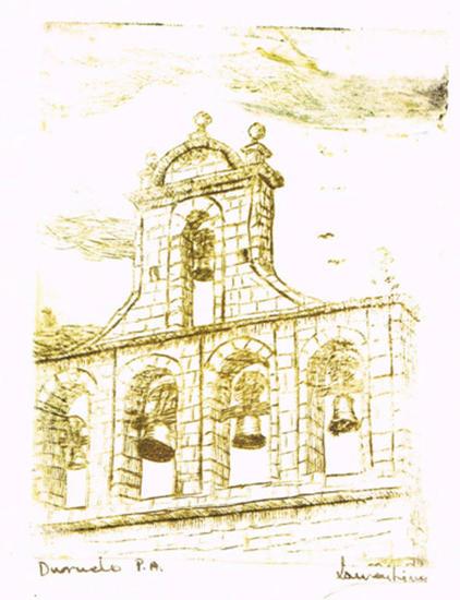 Duruelo(grabado) Aguatinta