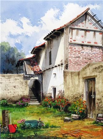 valde rojo Watercolour Paper Landscaping