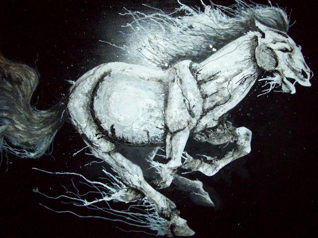 Mustang Tabla Tinta Animales