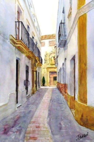 Arcos de la Frontera (Cadiz) 4 Landscaping Watercolour Paper
