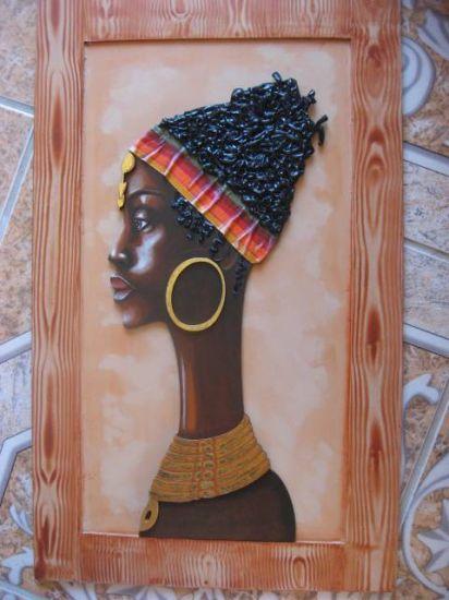 Africa Acrílico Tabla Retrato