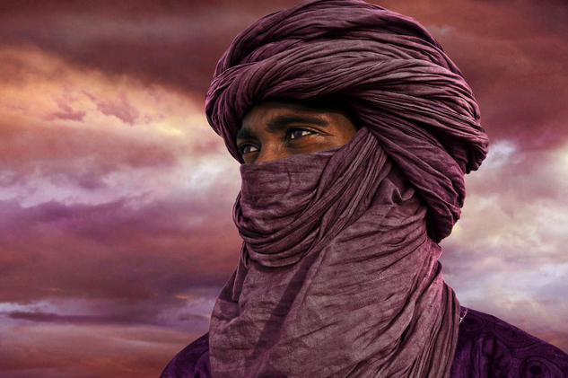 TUAREG Color (Digital) Retrato