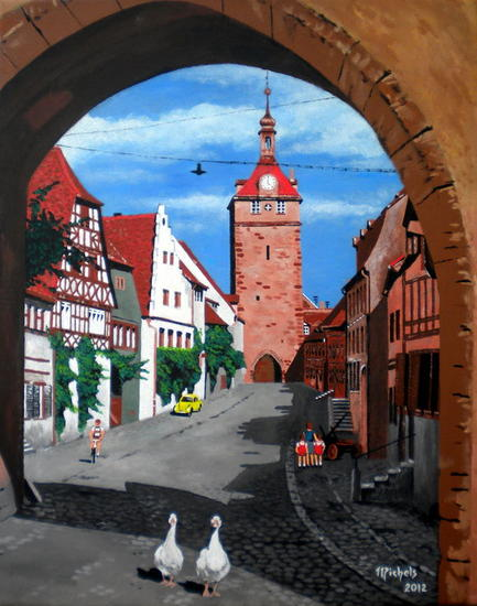 Prichsenstadt Canvas Acrylic Others