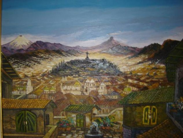 Quito Oil Canvas Landscaping