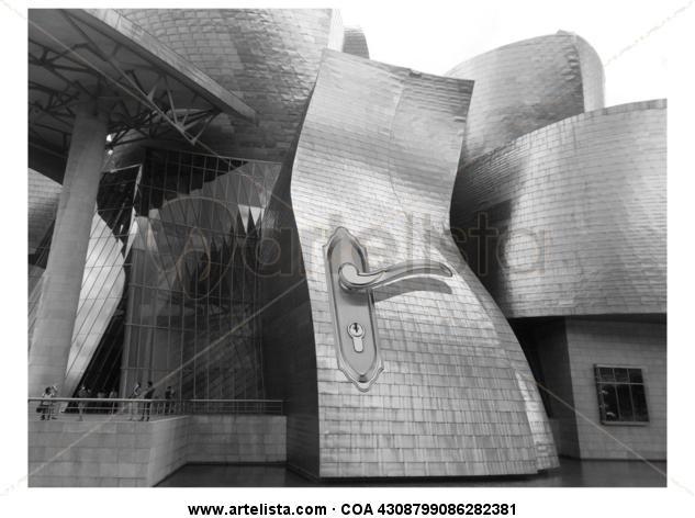 Closed Blanco y Negro (Digital) Conceptual/Abstracto