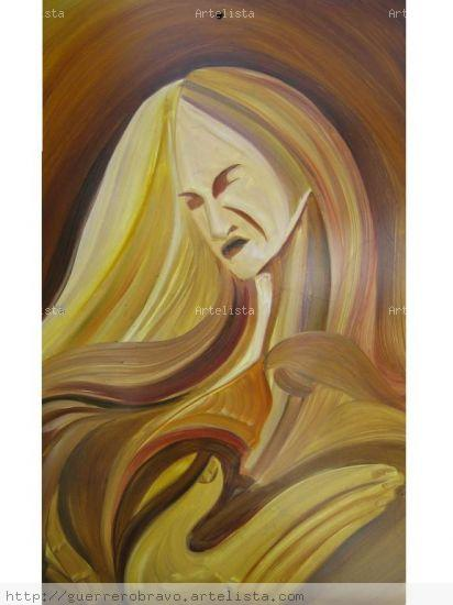 mujer Figure Painting Others Oil