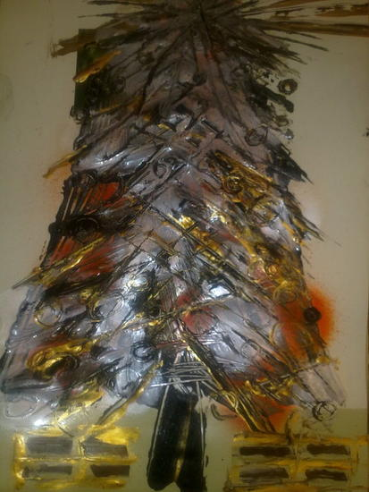 MERRY CHRISTMAS !!! F3 BUON NATALE 202/2011 Floral Papel Acrílico