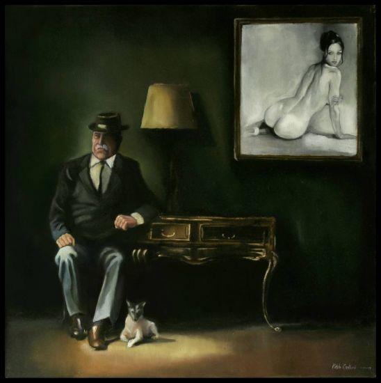 El sueño del retrato Óleo Lienzo Figura