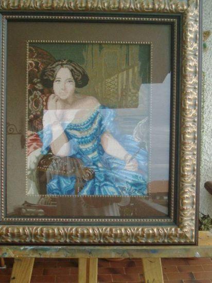 Dama antígua Bordados Textil