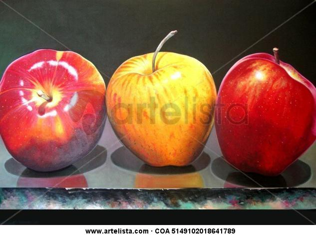 MANZANAS Canvas Oil Landscaping