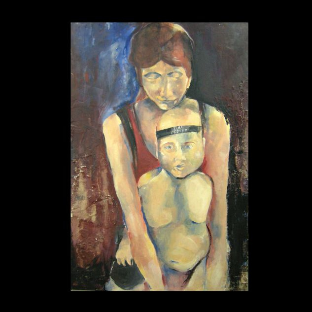 Mi mama es piquetera Others Panel Figure Painting