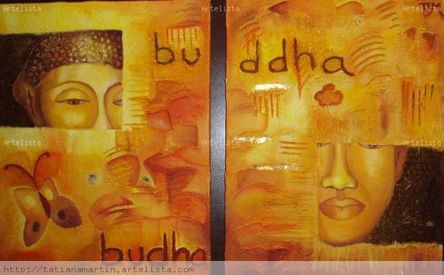 Budha Oil Canvas Figure Painting
