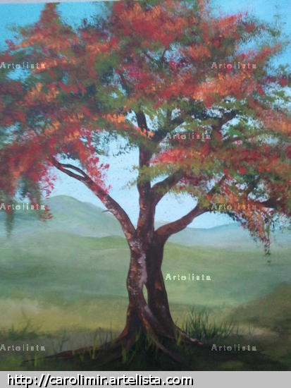 familia Oil Canvas Landscaping