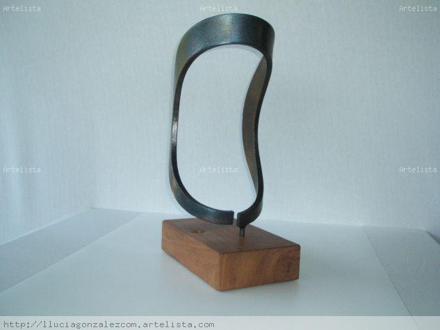 DEFORMACIÓN DEL CIRCULO Metal Abstracta
