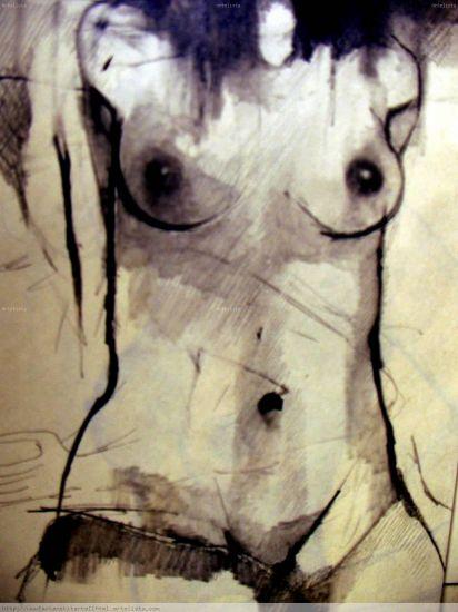 C O R P O M A G N E T I C O Pencil (Black) Paper Nude Paintings