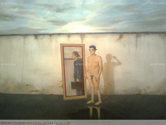 LA SOMBRA QUE REFLEJA SU LUZ EN EL Óleo Lienzo Retrato
