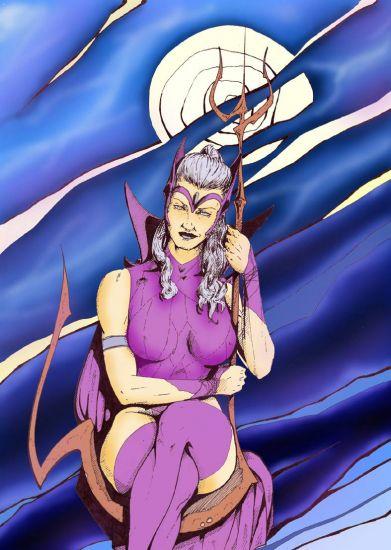 la dama infernal