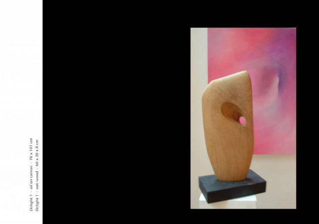 Delight 1 Madera Abstracta