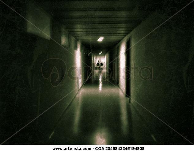 Corredor #2 | Hallway #2 Color (Digital) Arquitectura e interiorismo