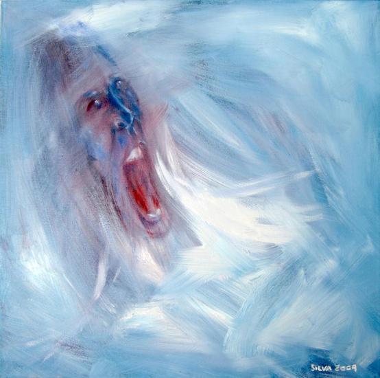 Mi grito Óleo Lienzo Retrato