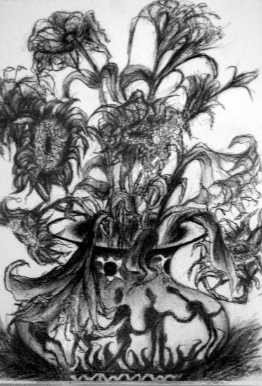 向日葵 Others Paper Floral Painting