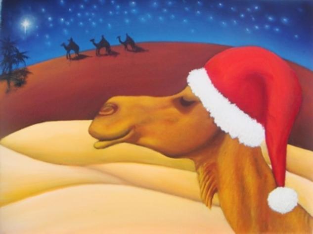 Recordando la Primera Navidad Canvas Oil Figure Painting