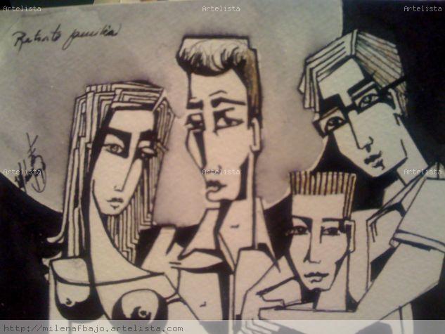 mi familia Tinta