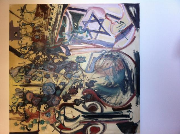 Claridad Cerebral Canvas Oil Floral Painting
