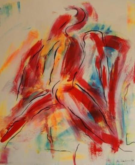 el bailarín rojo