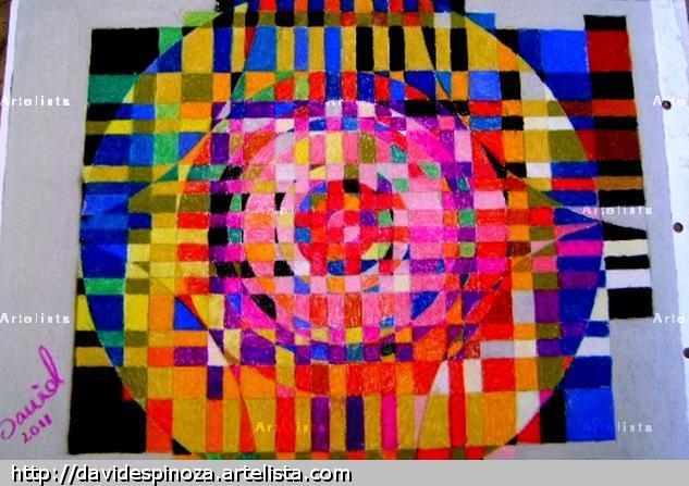 Caja de colores en el Universo Pastel Cartulina Otros