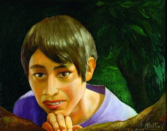 Reflejo del Alma Óleo Lienzo Retrato