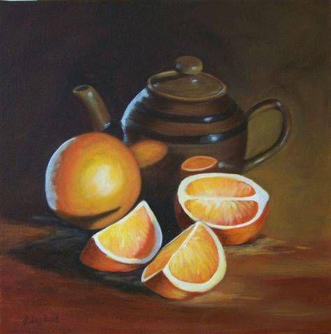 Orange Pekoe Acrílico Lienzo Bodegones