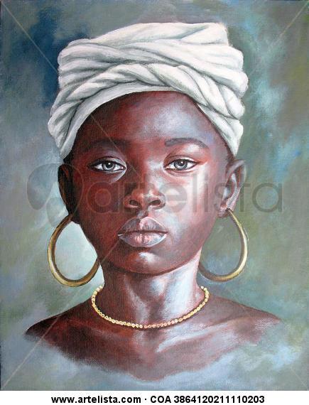 niña de raza negra 2