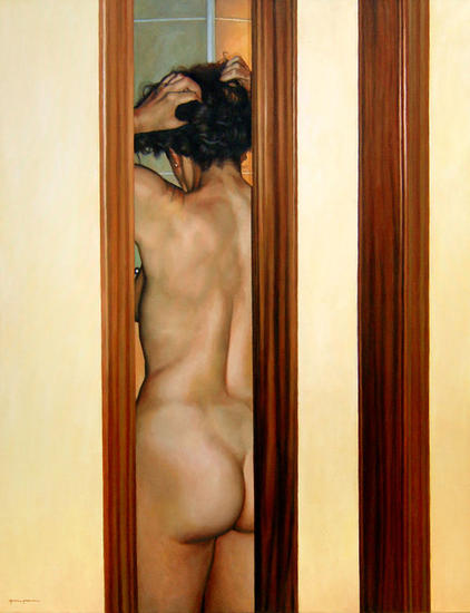 Momento privado Canvas Oil Nude Paintings