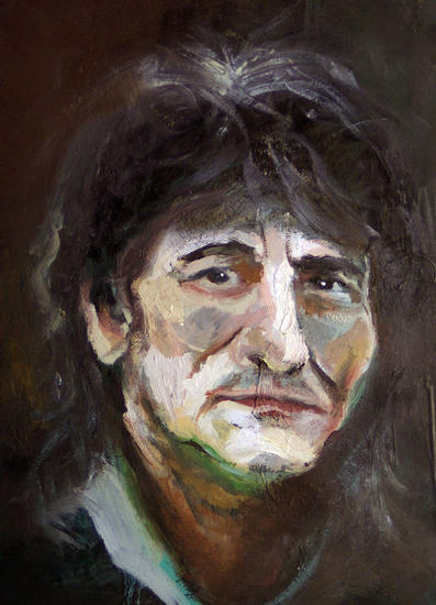 Ronnie Portrait Panel Oil